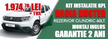 Oferta Kit instalatie GPL Dacia Duster