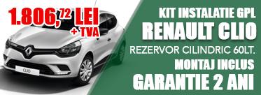 Oferta Kit instalatie GPL Renault Clio